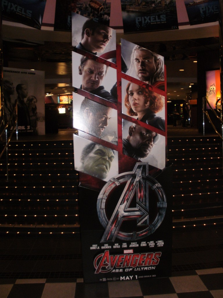 Marvel's The Avengers: Age of Ultron film is set to premiere this summer.