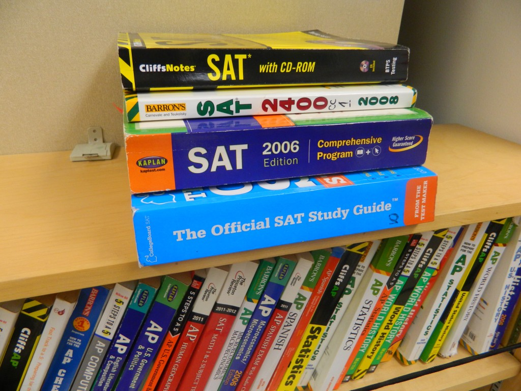 Study materials for the SAT