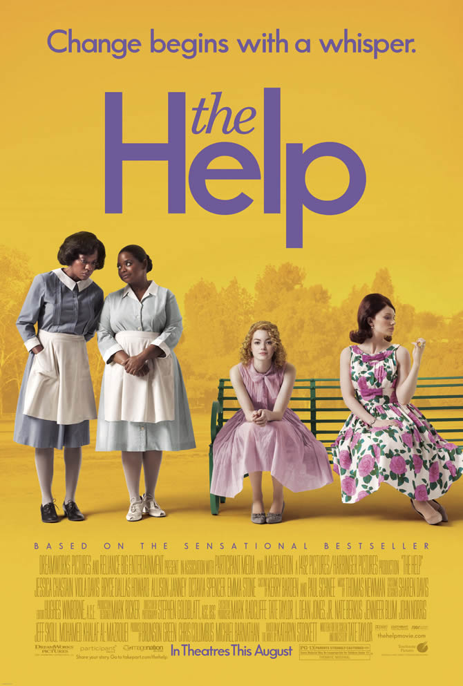 The Help is one of the book adaptations that some fans should watch first