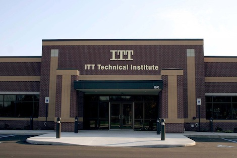 ITT Technical institute before its shutdown